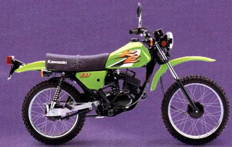kawasaki ke100 1974 1998 review mcn rh motorcyclenews com Kawasaki Electrical Diagrams Kawasaki KLF 300 Wiring Diagram