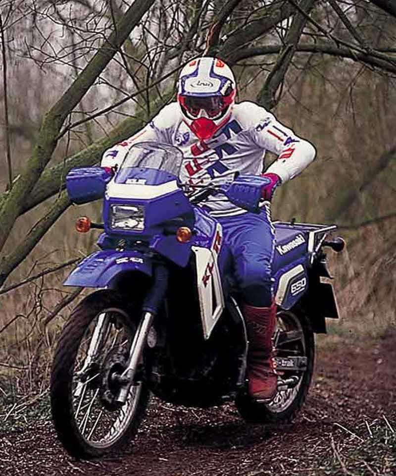 KAWASAKI KLR250 (1984-2001) Review   MCN