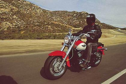Kawasaki VN800 Classic motorcycle review - Riding