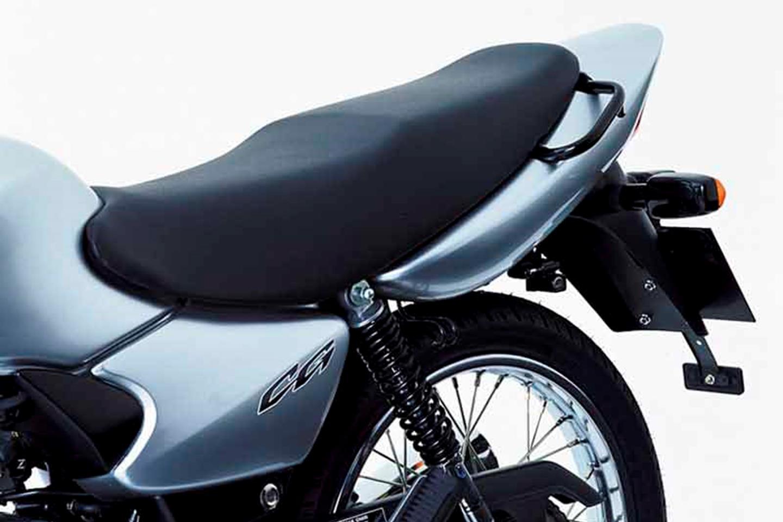 Honda CG 125 rear seat