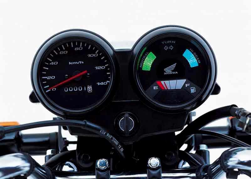 honda cg125 (1975 2008) review speed, specs \u0026 prices mcnhonda cg125 motorcycle review instruments