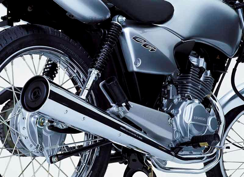 honda cg125 (1975 2008) review speed, specs \u0026 prices mcnengine honda cg125 motorcycle review exhaust