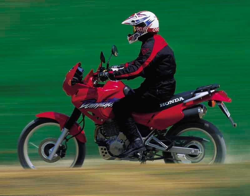 HONDA NX650 DOMINATOR (1988-2001) Motorcycle Review   MCN 03cfe80f2d