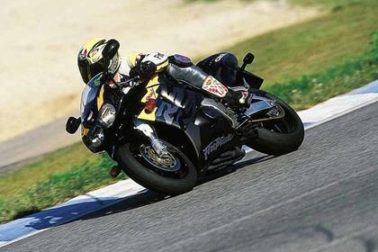 Honda CBR900RR Fireblade motorcycle review - Riding