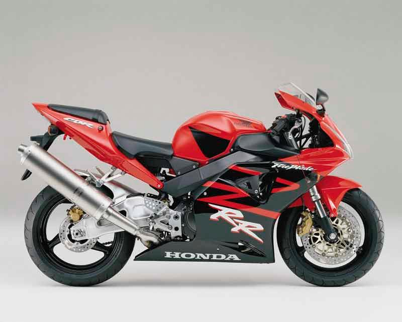 ... Honda CBR900RR FireBlade Motorcycle Review   Side View ...
