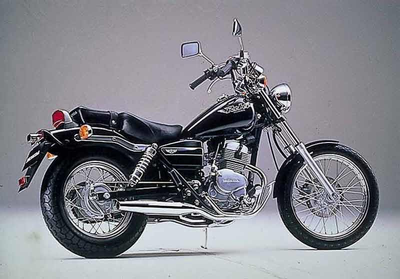 Honda CA125 Rebel Motorcycle Review