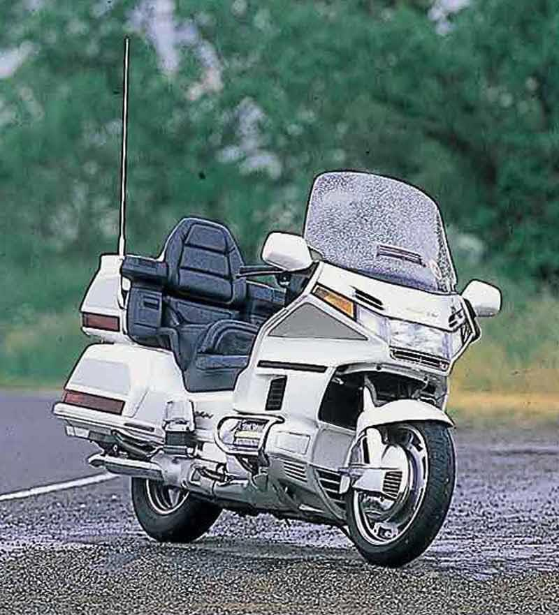 honda gl1500 goldwing 1998 2000 motorcycle review mcn. Black Bedroom Furniture Sets. Home Design Ideas