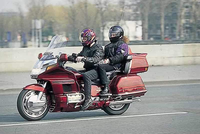 Honda Gl1500 Goldwing 1998 2000 Review Mcn