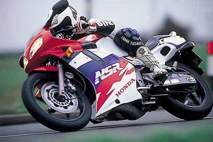 Honda NSR125RR motorcycle review - Riding