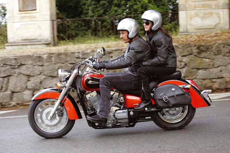 Delightful ... Honda VT750C Shadow Motorcycle Review   Riding ...