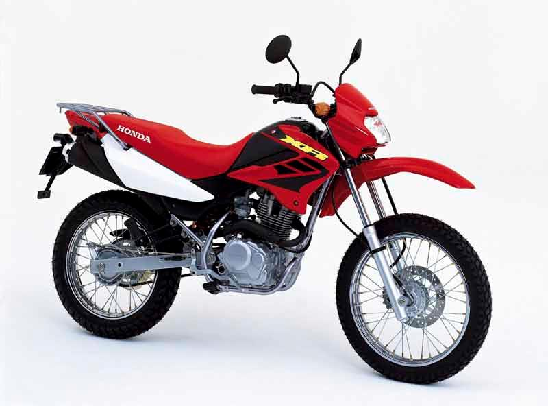 Honda XR125L Motorcycle Review   Side View ...