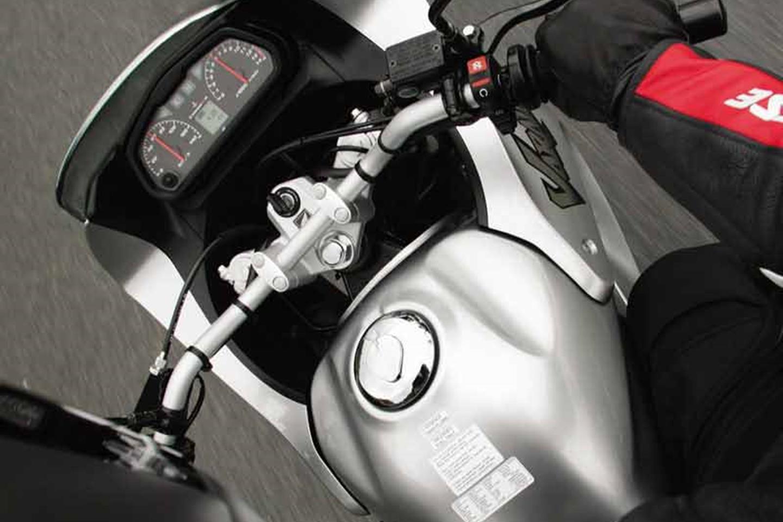 Honda Varadero 125 clocks
