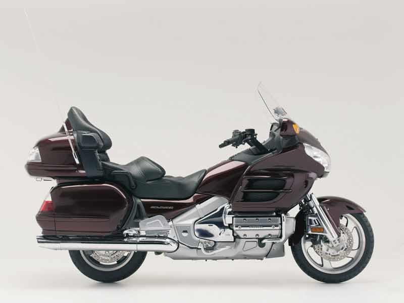 honda gl1800 goldwing (2001 on) review, specs \u0026 prices mcn GL1800 Motor honda gl1800 gold wing motorcycle review side view