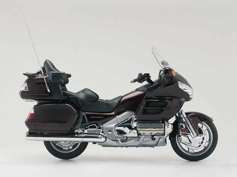 Honda Gl1800 Goldwing 2001on Review Mcn