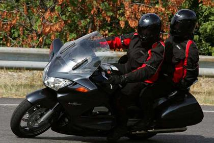 Honda ST1300 Pan European motorcycle review -  Riding