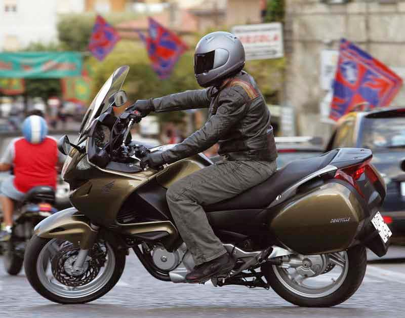 Honda Deauville Motorcycle Review Riding