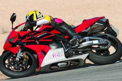 Honda CBR600RR motorcycle review - Riding