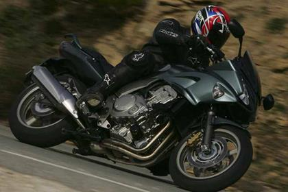 Honda CBF1000 motorcycle review - Riding