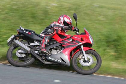 Honda CBR125RR motorcycle review - Riding
