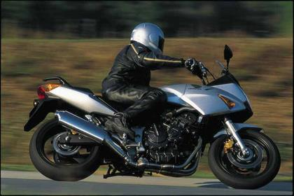 Honda CBF600 motorcycle review - Riding