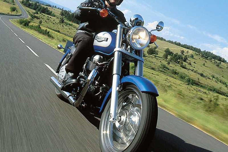 Riding the Triumph Bonneville America