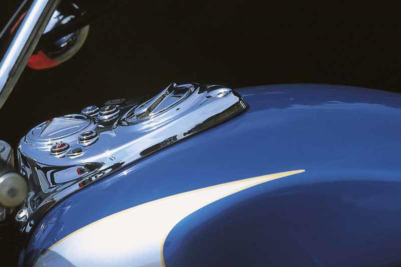 Triumph Bonneville America fuel tank