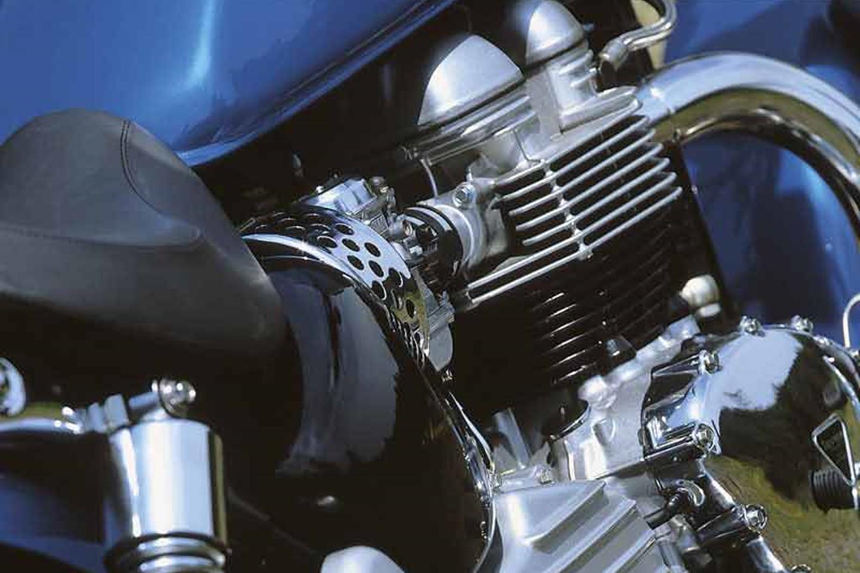 Triumph Bonneville America engine