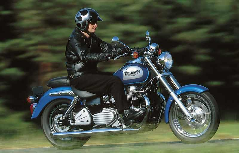 Triumph Bonneville America 2002 On Motorcycle Review Mcn
