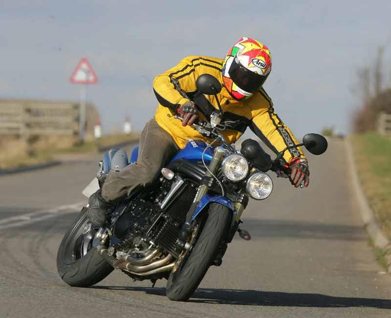 Triumph Speed Triple Touring Bike