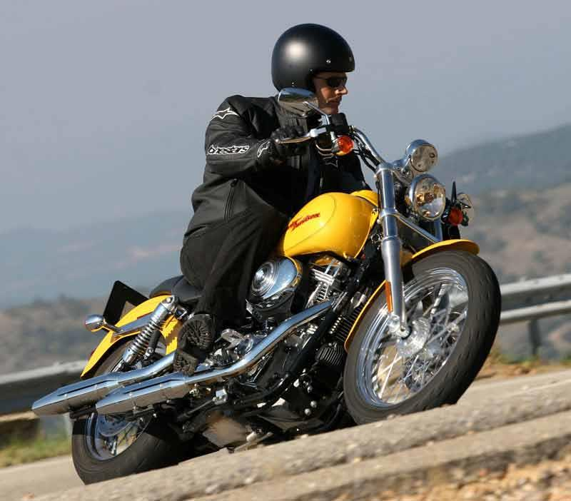 Harley davidson super glide 1994 on review mcn harley davidson fxdfxdi dyna super glide motorcycle review riding fandeluxe Images