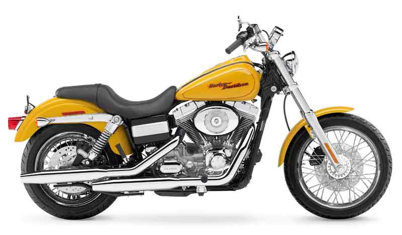 harley-davidson fxd/fxdi dyna super glide motorcycle review - side view