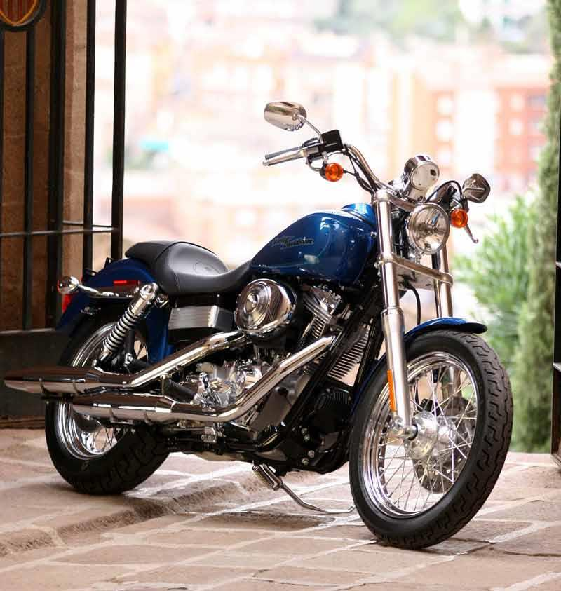 Harley davidson super glide 1994 on review mcn harley davidson fxdfxdi dyna super glide motorcycle review side view fandeluxe Choice Image