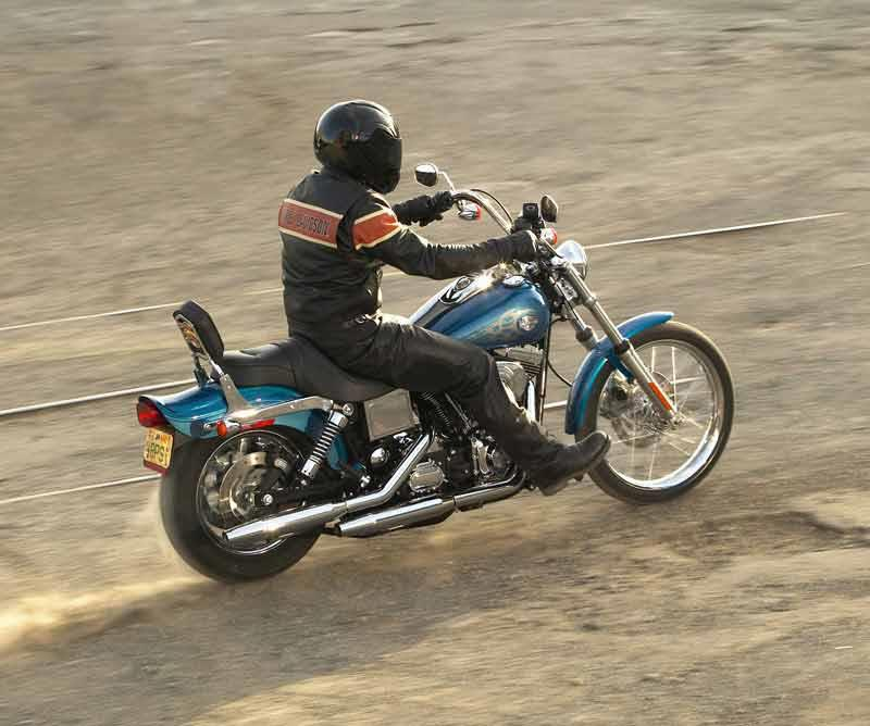 Harley Davidson Dyna Glide 1995 2009 Review Mcn