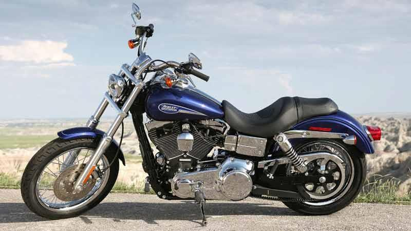 Harley Davidson Fxdli Dyna Low Rider Motorcycle Review Side View