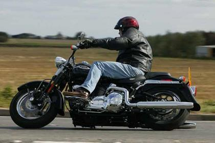 Harley-Davidson FXSTS Softail Springer motorcycle review - Riding