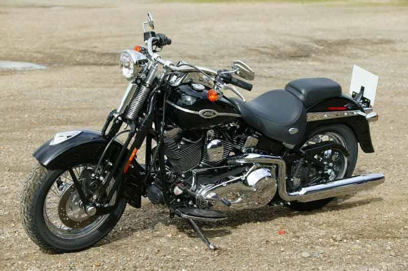 Harley Davidson FXSTS Softail Springer Motorcycle Review