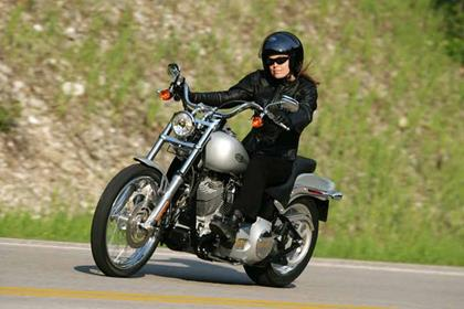 Harley-Davidson FXST Softail Standard motorcycle review - Riding