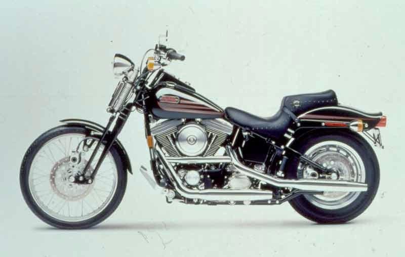 HARLEY-DAVIDSON BAD BOY (1995-1996) Motorcycle Review | MCN