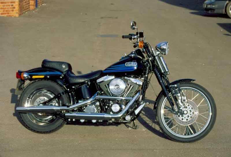 Harley Davidson Bad Boy 1995 1996 Review Mcn