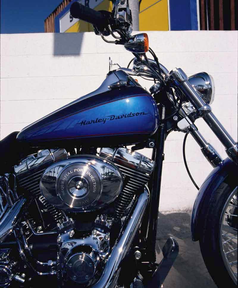 harley davidson deuce 1999 2005 motorcycle review mcn. Black Bedroom Furniture Sets. Home Design Ideas