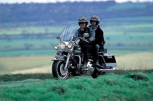 Harley Davidson Flhr Road King 1993 On