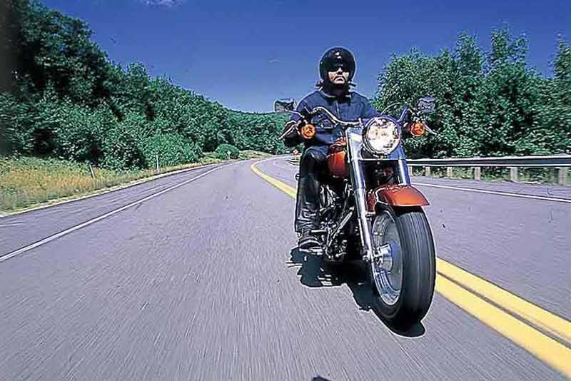 Harley Davidson FLSTF Fat Boy Motorcycle Review