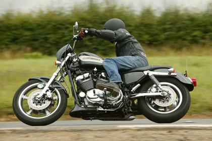 Harley-Davidson XL1200 Sportster motorcycle review - Riding