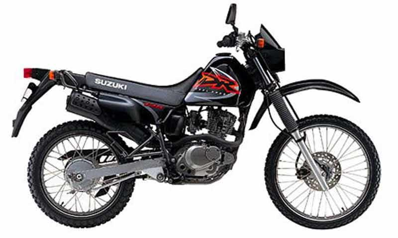 suzuki dr125 (1985 2001) review speed, specs \u0026 prices mcn  suzuki dr z125 dr z125l and kawasaki