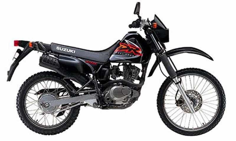 suzuki dr125 1985 2001 review mcn rh motorcyclenews com Suzuki DR-Z70 1998 Suzuki Dr 125