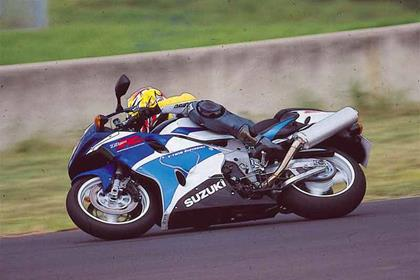 Suzuki TL1000R motorcycle review - Riding