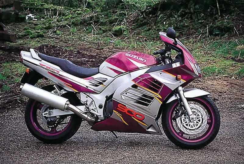 Suzuki RF900R Motorcycle Review