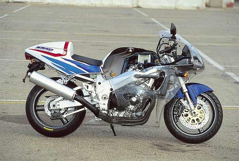 Suzuki GSX R750 Motorcycle Review