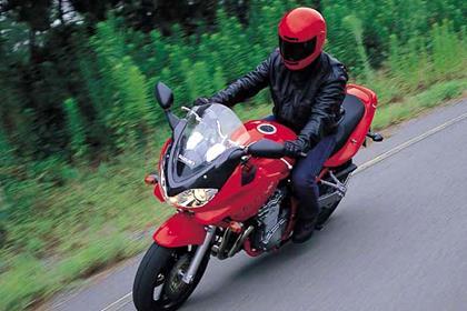 Suzuki GSF600 Bandit motorcycle review - Riding