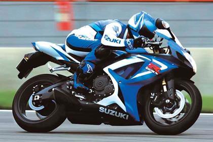 Suzuki GSX-R750 motorcycle review - Riding